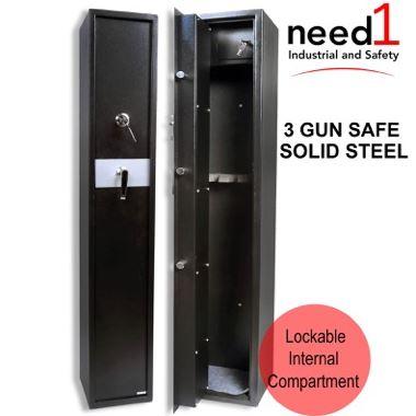 Gun Safe 3 Racks