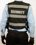 Black vest rear